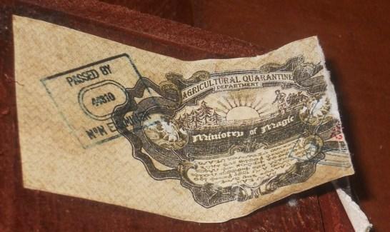hechicera postal stamp