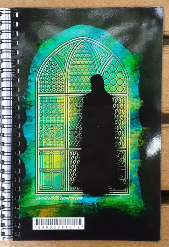 snape notebook window inside cover