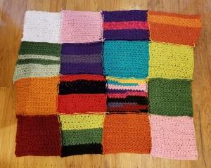 geeklet crochet welcome blanket