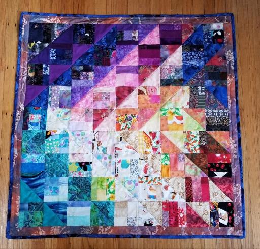 welcome blanket arrow quilt